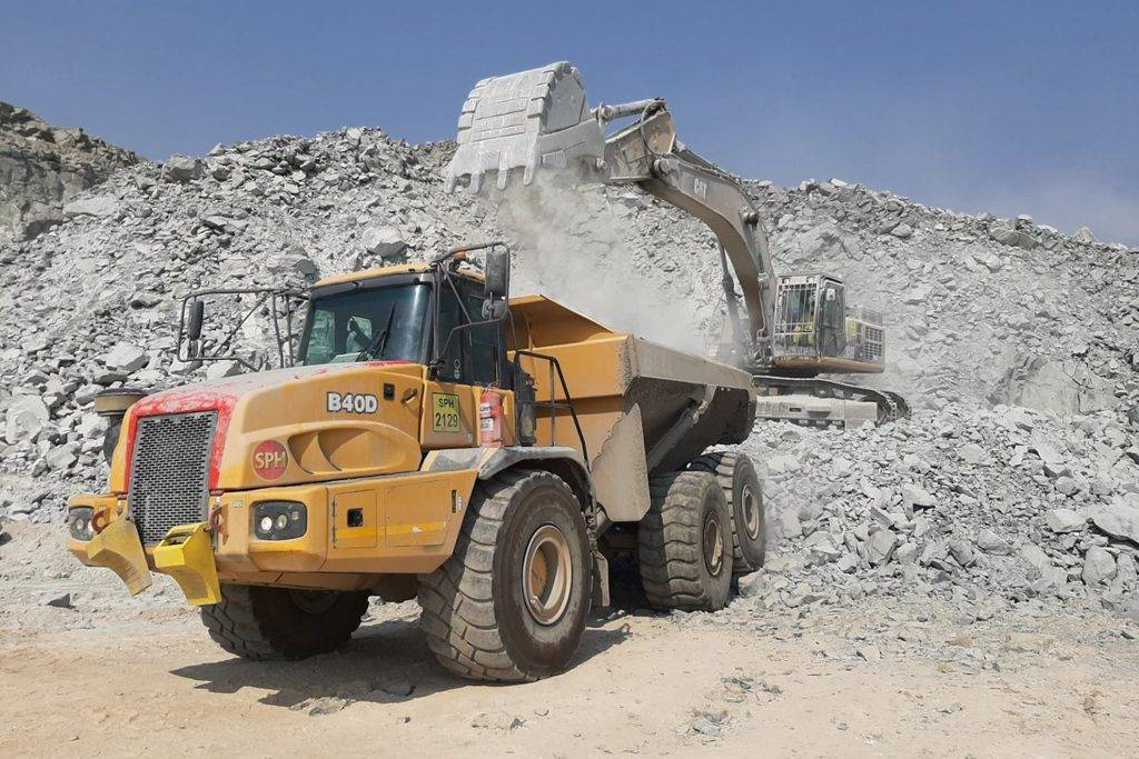 quarrying and industrial plant financing